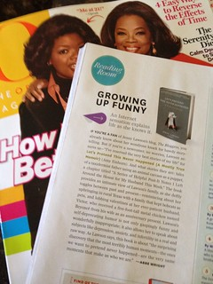 Page 154 of Oprah's O Magazine.  FREAKING OUT. | by jennythebloggess