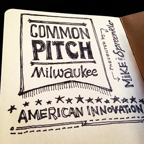 Common Pitch Milwaukee: Sketchnotin' | by Mike Rohde