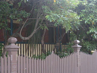 "The Shady, Hidden verandah of ""Clowance"", a Late Victorian Villa - Ballarat"