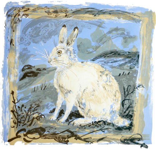 mark_hearld_mountain_hare_lithograph | by Eye magazine
