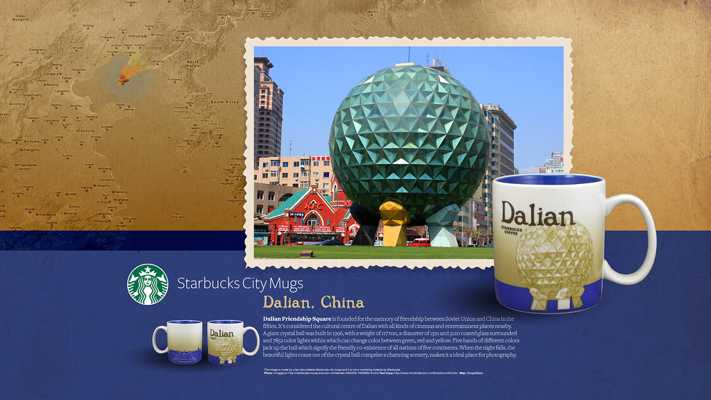 Starbucks City Mug Dalian Desktop Wallpaper | Starbucks