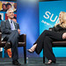 Mayor Rahm Emanuel and Laurene Powell Jobs