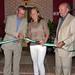 Carolina Navarro corte cinta padel inauguracion club los caballeros benalmadena
