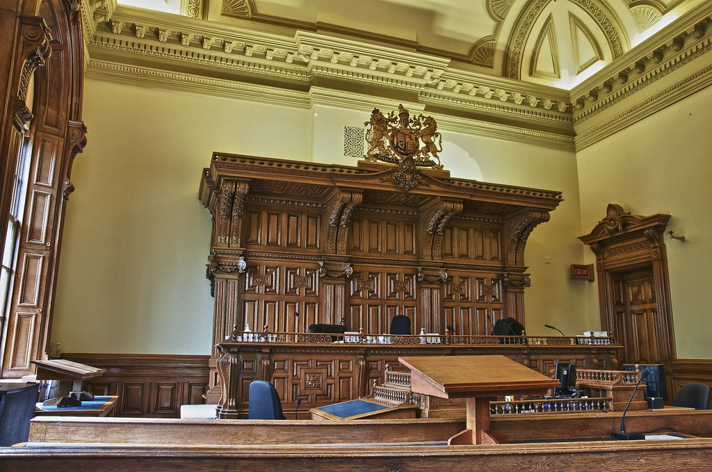 Courtroom 2 Osgoode Hall Toronto Ontario Originally