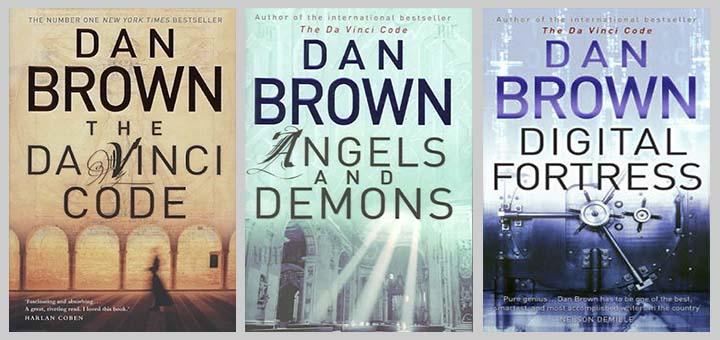 Dan Brown trio