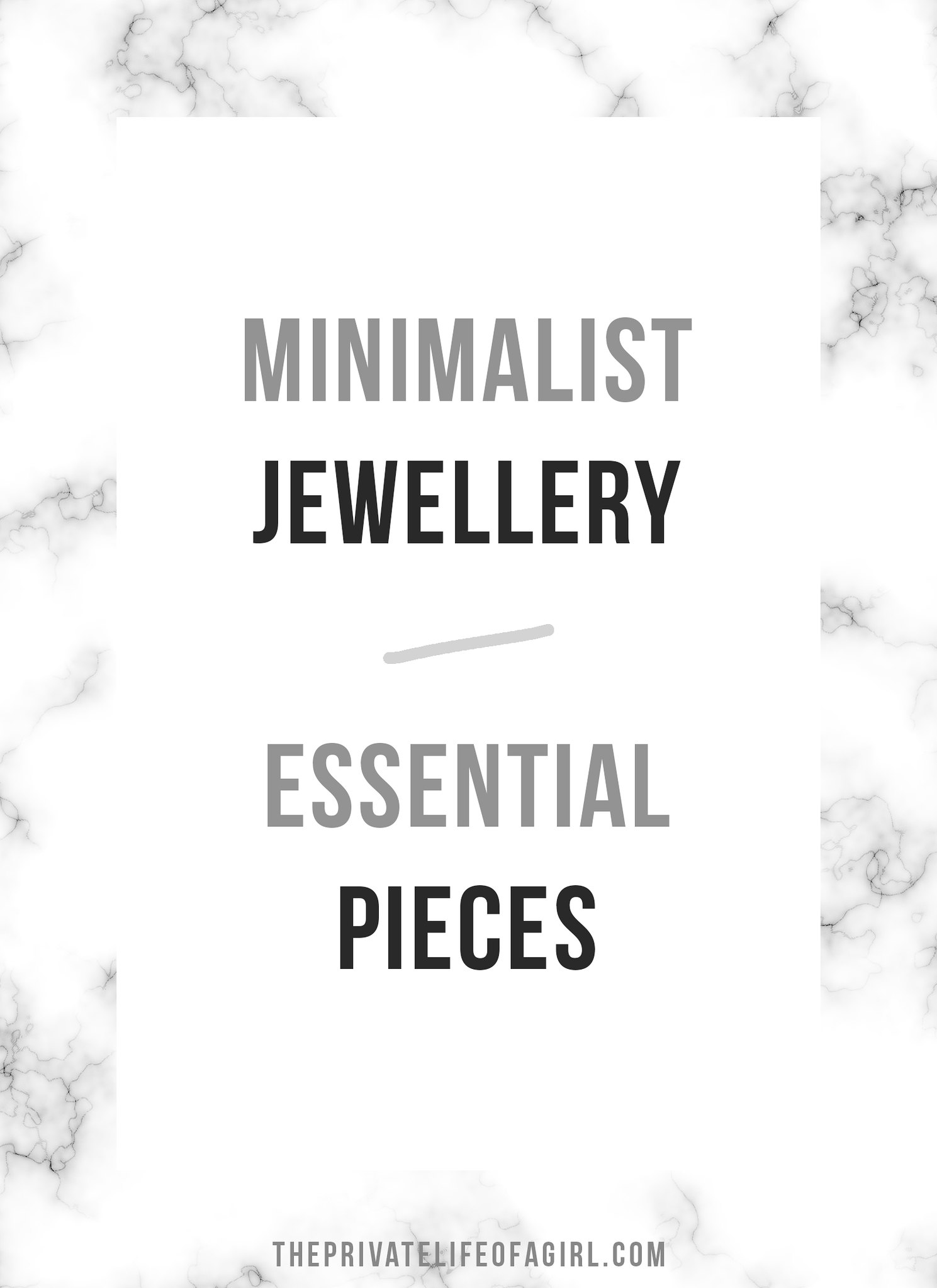 A Guide to Minimalist Jewellery