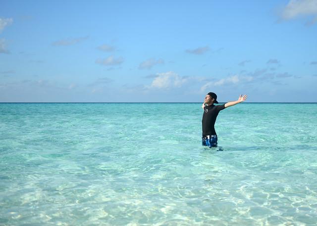 Libertad en el agua de nuestra isla de Maldivas