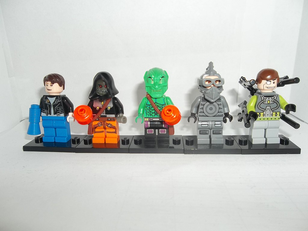 Lego Spiderman wave 2 | Hydro Man, Hobgoblin, Green Goblin ...