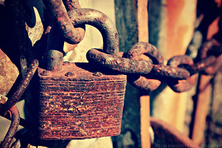 Lock and Chain | by Caitlin Magarity Photography
