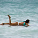 Paddling along the shoreline  - Waikiki Beach