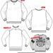 Crewneck shirt template