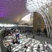 London's King's Cross station recently restored by John McAslan