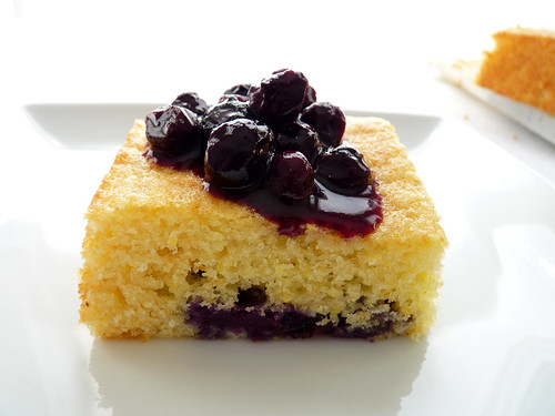 Blueberry Lemon Cornmeal Cake | by pastrystudio