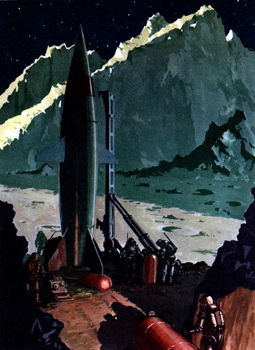 MISSILE from the MOON - Illustration by Jack COGGINS (1952) | by BudCat14/Ross