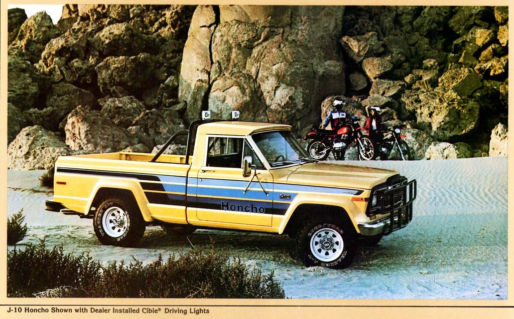The New Jeep Truck >> 1980 Jeep J-10 Honcho Pickup   Alden Jewell   Flickr