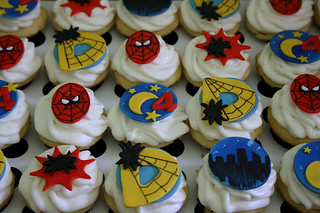Spiderman Cupcakes | by Creative and Tasty Treats (Sandy) 305-218-8603