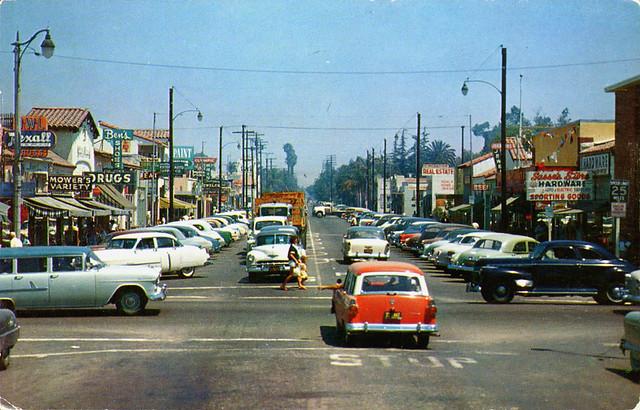 Euclid Avenue Garden Grove California 1950s Flickr Photo Sharing