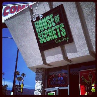 After DC visited House Of Secrets (@HoS_Burbank) - what a great comic shop! Look forward to returning. | by theRAIDstudio