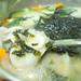 Hand-cut chip noodle soup