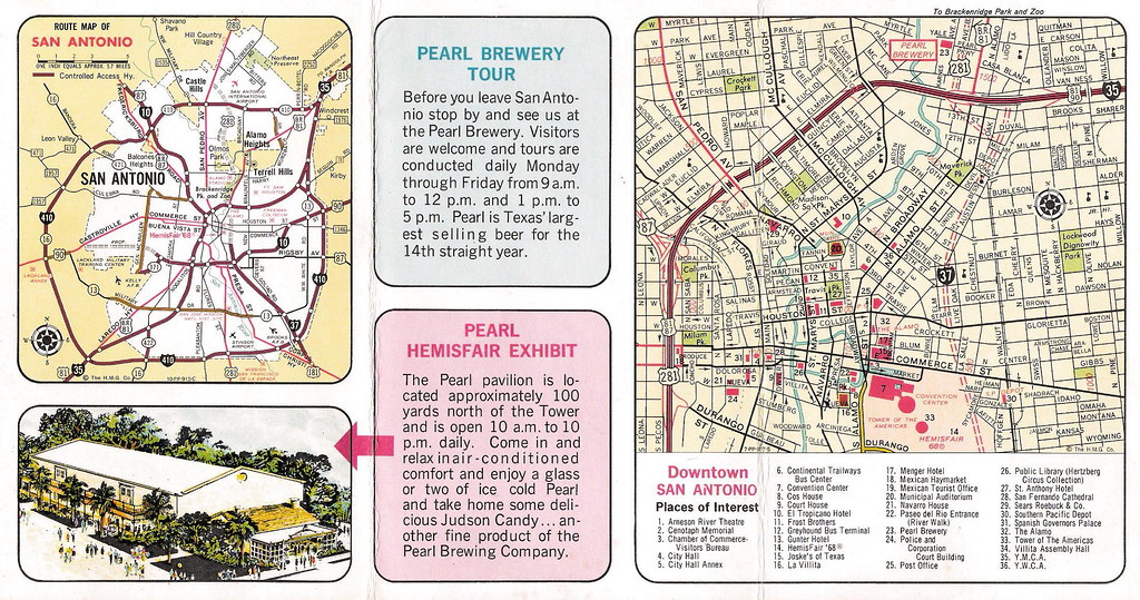 Map of Downtown San Antonio Downtown San Antonio Map