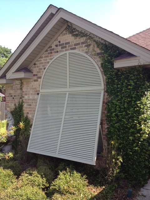 Arched Decorative Bahama Shutter Sei Shutters Flickr