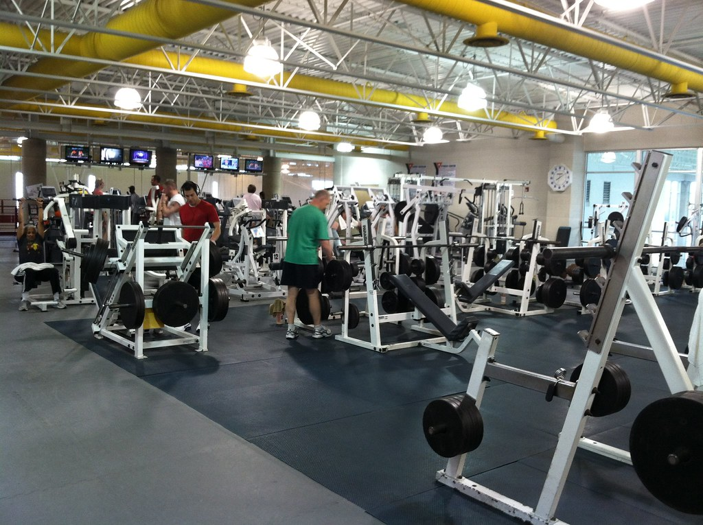 Helen G Nassif Ymca Weight Room During Our Visit To The