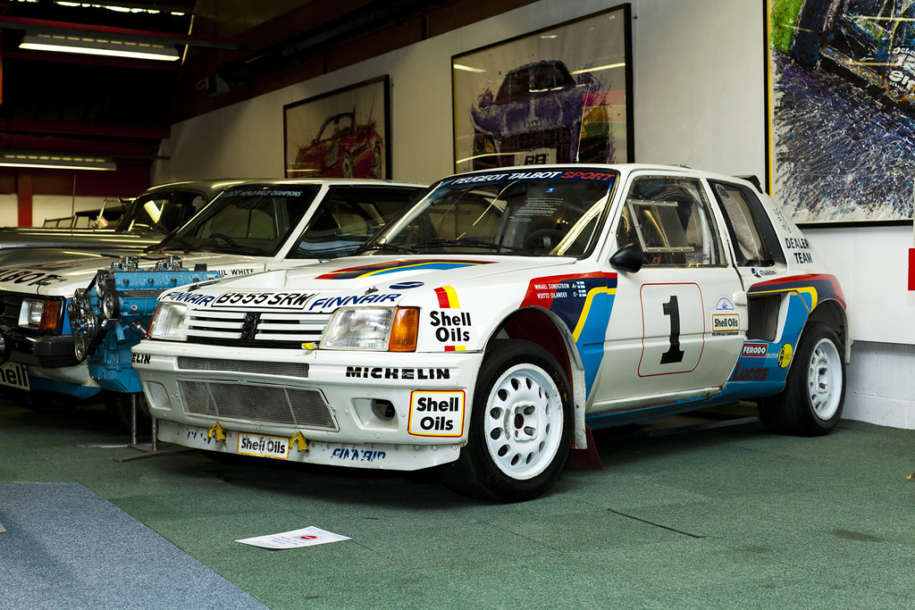 Racing Cars For Sale >> coventry transport museum peugeot 205 T16 | This is the actu… | Flickr