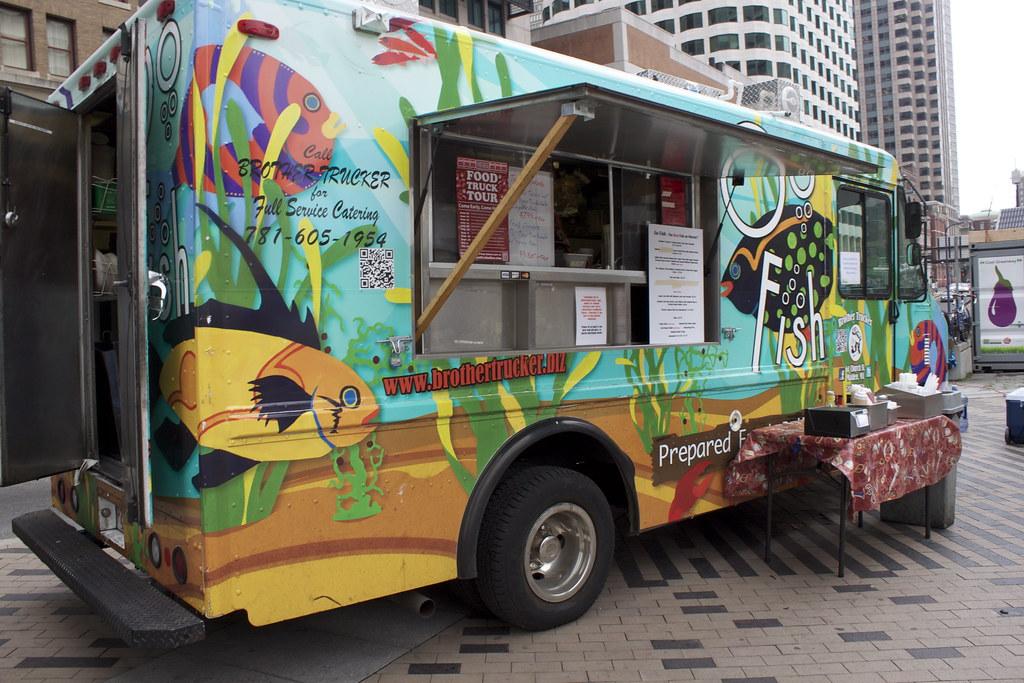 Fish Food Truck Behance