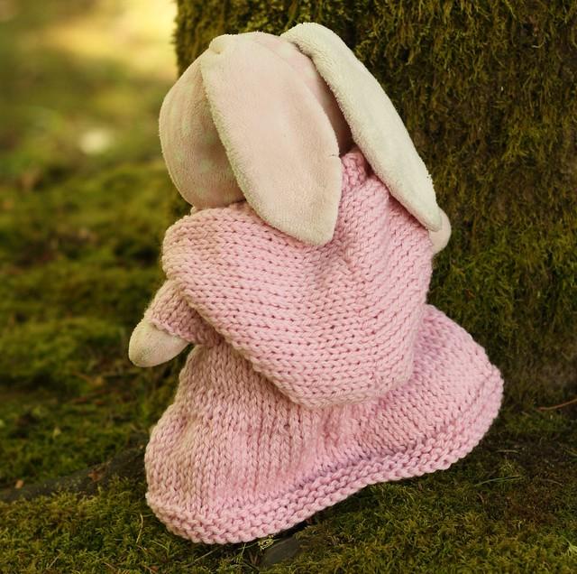 Bunny's Sweater Dress Raincoat Hoodie (4)
