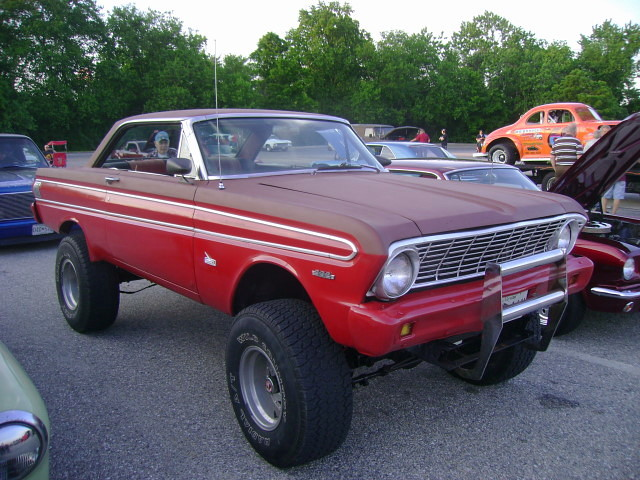 1964 Ford Falcon Futura Mounted On A Mid 70s Bronco