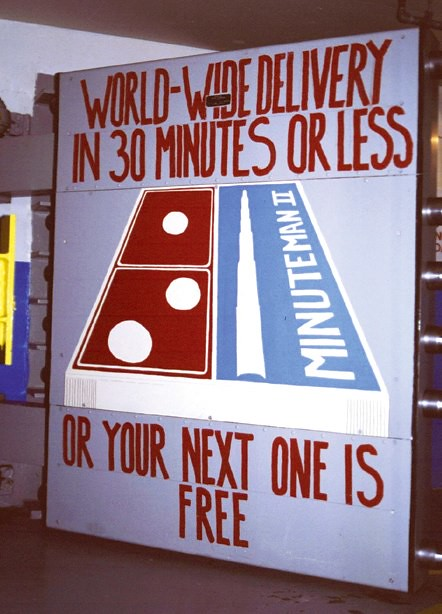 Delta 01 Minuteman Launch Control Facility Blast Door Unde
