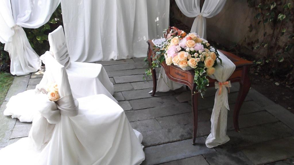 Allestimento floreale castello di casanova elvo 17 06 2012 flickr - Castello di casanova elvo ...