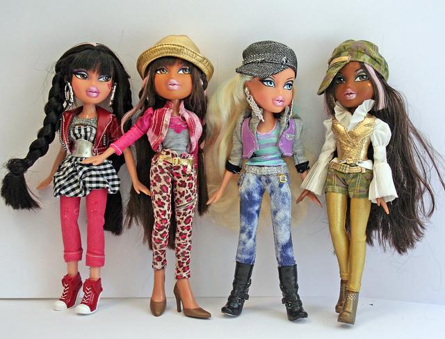 bratz h77 jade, yasmin, cloe, sasha | Flickr - Photo Sharing!
