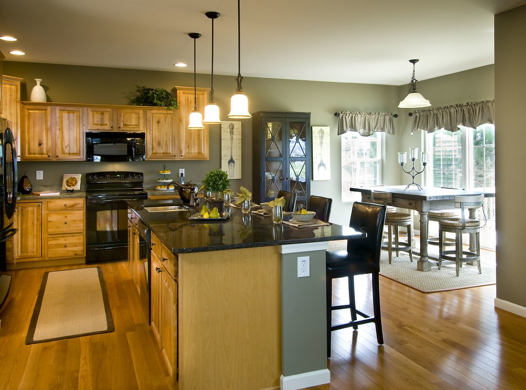 Kitchen Breakfast Nook Keystone Custom Homes Flickr