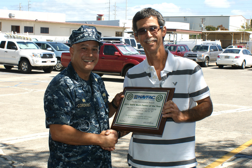 NAVFAC Hawaii Safety Excellence Team Award - FS   On March ...