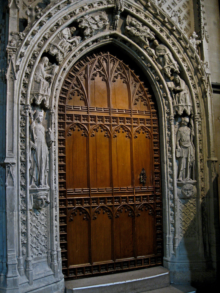 & Chapter Library door Rochester cathedral Kent England | Flickr