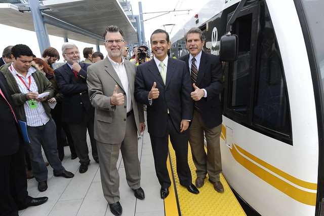 ... hopes to start work before 2010, the date for the Expo Line opening
