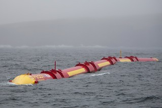 Pelamis P2 wave energy device | by Scottish Government