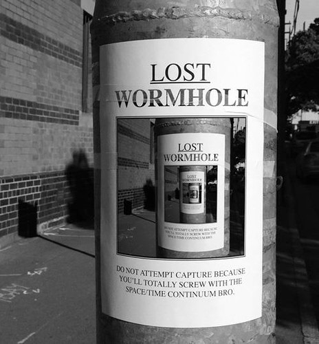Lost Wormhole | by caseorganic