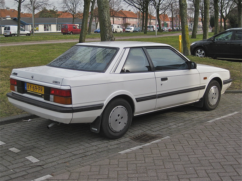 Mazda 626 Coup 233 2 0 Automatic 1984 Amsterdam N