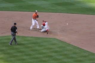 Hector Luna slides into second | by PhilliesNation