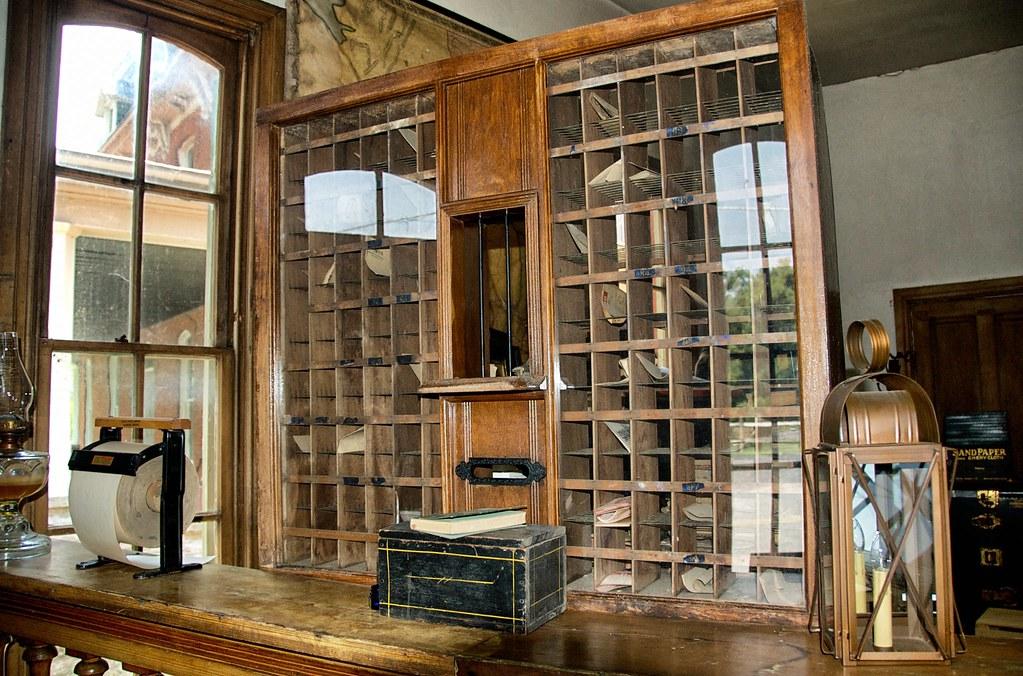 Old Post Office Interior Williamsport Md 2008 Flickr