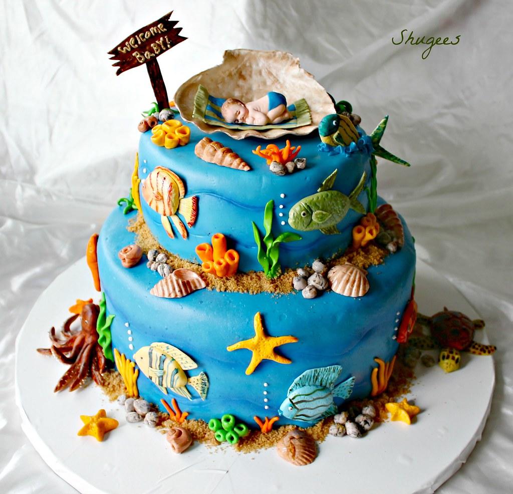 Under The Sea Children S Cakes