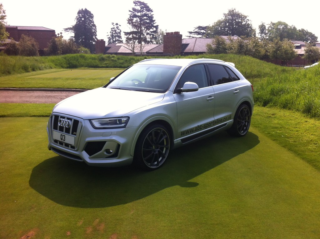 audi q3 abt body kit the q3 has a much more muscular. Black Bedroom Furniture Sets. Home Design Ideas