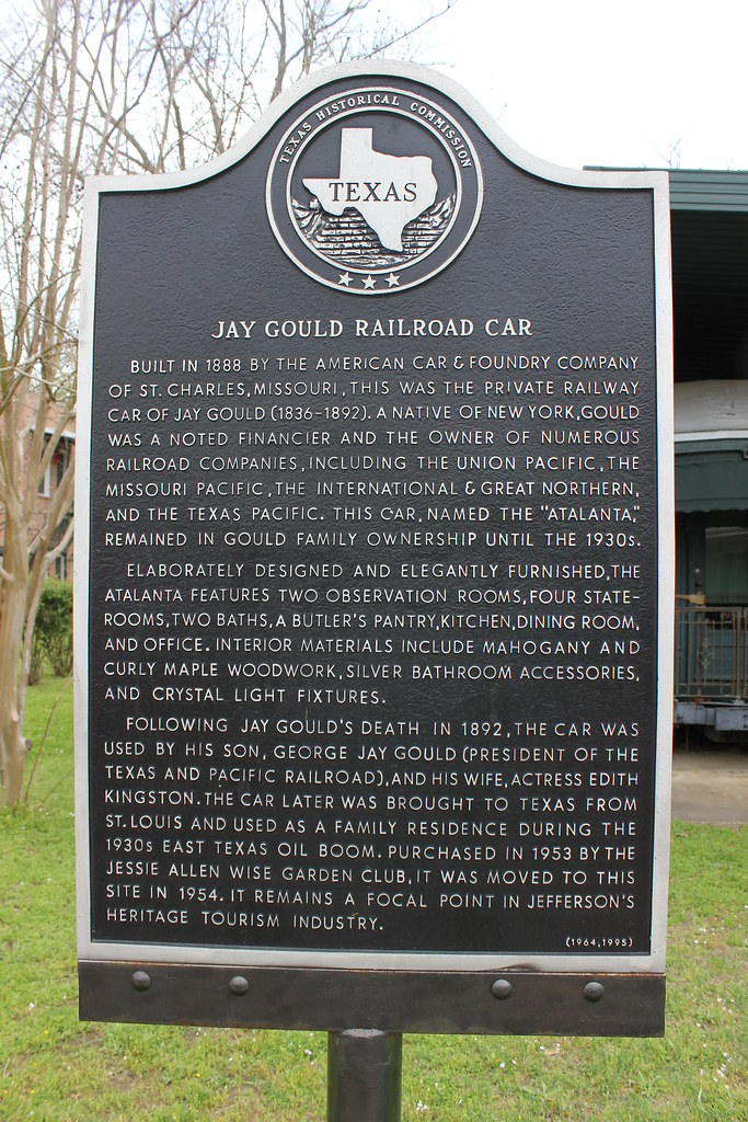 jay gould railroad car  jefferson  texas historical marker kitchen dining room knock through kitchen dining room chairs