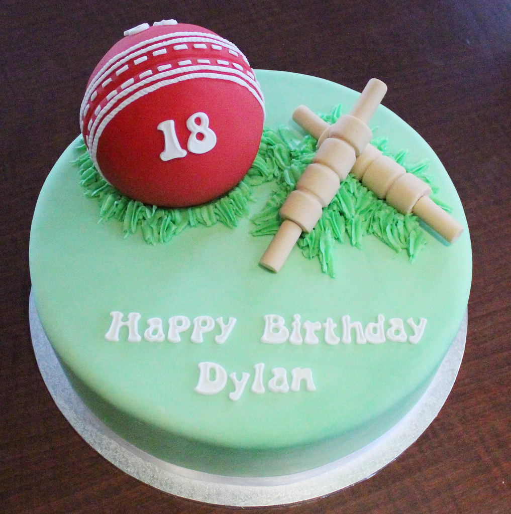 Cricket Themed Cake Decorations