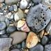 sea stones on the beach