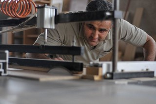 Munish Musliu, runs a successful carpentry business | by UNDP in Europe and Central Asia