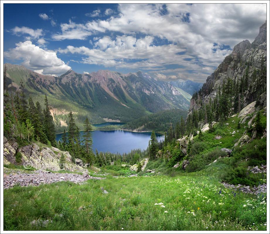 Colorado >> Weminuche Wilderness - Emerald Lake/Little Emerald Lake | Flickr
