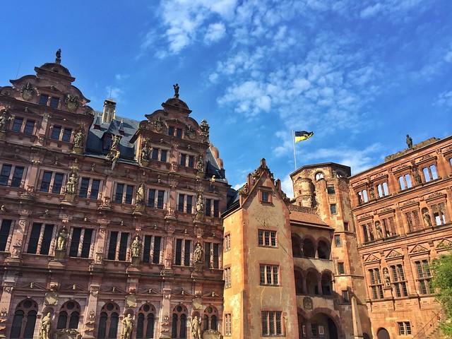Interior del castillo de Heidelberg (Alemania)